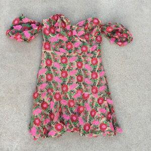 For love and lemons Amelia mini dress